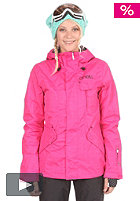 Womens Explore Rainbow Moon Jacket beetroot/pink