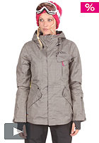 Womens Explore Rainbow Moon Jacket charcoal/grey
