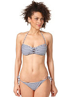 ONEILL Womens Fix M and M Bandeau Bikini Set blue aop w/blue