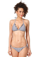 ONEILL Womens Fix M and M Triangle Bikini Set blue aop w/blue