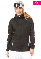ONEILL Womens Frame Hyperfleece Hooded Zip Sweat black/out