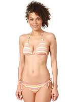 ONEILL Womens Funstripe Triangle Bikini Set pink aop