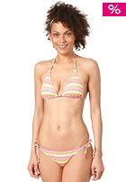 ONEILL Womens Funstripe Triangle Bikini Set pink aop