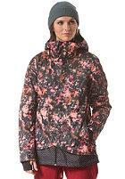 ONEILL Womens Ginga Snowboard Jacket pink aop