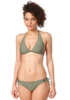 ONEILL Womens Halter Hipfit Bikini Set olive leaves