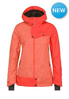 ONEILL Womens Line Up Snowboard Jacket poppy red