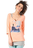 ONEILL Womens Luna L/S T-Shirt neon peach