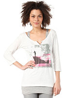 ONEILL Womens Luna L/S T-Shirt powder white