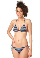 ONEILL Womens Nano Crosstriangle Bikini Set blue aop