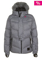 ONEILL Womens New Rideable Down Jacket black out