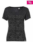 ONEILL Womens O�riginals Marbling S/S T-Shirt black out