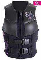 Womens Outlaw Comp impact Vest black/black