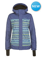 ONEILL Womens Peridot Snowboard Jacket grey aop w