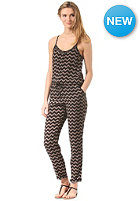 ONEILL Womens Pineapple Fest Jumpsuit black aop