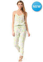 ONEILL Womens Pineapple Fest Jumpsuit white aop I