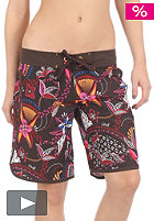 ONEILL Womens Pintades Boardshort brown/aop