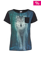 ONEILL Womens Printed S/S T-Shirt black out II