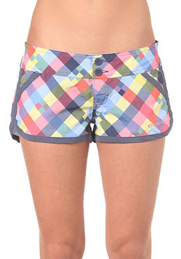 ONEILL Womens PW Check Maid Boardy Shorts blue aop