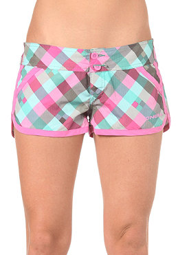 ONEILL Womens PW Check Maid Boardy Shorts green aop