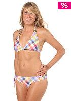 ONEILL Womens PW Check Triangle Bikini B-Cup blue aop