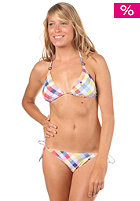 ONEILL Womens PW Check Triangle Bikini C-Cup blue aop