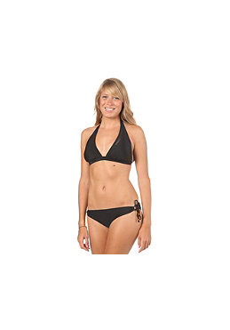 ONEILL Womens PW Halter Hipfit Bikini D-Cup black out