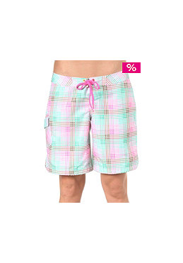 ONEILL Womens PW Sunrise Check Boardshorts green aop 3