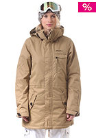 ONEILL Womens PWES Maze Snow Jacket marl brown