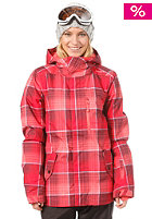 ONEILL Womens Pwes Summit Snow Jacket pink/aop