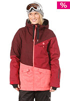 ONEILL Womens Segment Jacket cape red