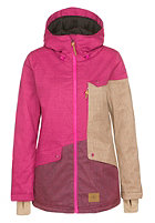 ONEILL Womens Segment Jacket pink rose