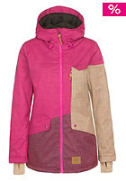ONEILL Womens Segment Snow Jacket pink rose