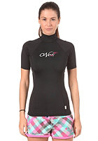 ONEILL WETSUITS Womens Skins S/S Turtleneck black/black/black