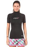 ONEILL Womens Skins S/S Turtleneck Lycra black/black