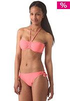 ONEILL Womens Solid Bandeau B-Cup Bikini Set porcelain rose