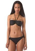 ONEILL Womens Solid Bandeau C-Cup Bikini Set black out