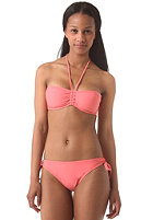 ONEILL Womens Solid Bandeau C-Cup Bikini Set porcelain rose