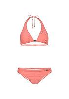 ONEILL Womens Solid Halter C-Cup Bikini Set porcelain rose