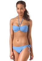 ONEILL Womens Solid Padded Bandeau B-Cup Bikini palace blue