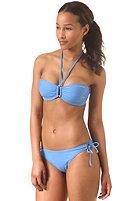 ONEILL Womens Solid Padded Bandeau C-Cup Bikini palace blue