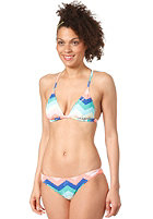 ONEILL Womens Sportslycra Bikini Set red aop w/ blue