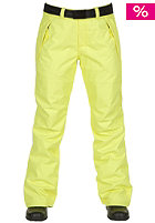 ONEILL Womens Star Snow Pant lime yellow