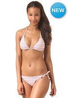 ONEILL Womens Stripe Triangle B-Cup Bikini pink aop