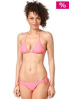 ONEILL Womens Triangle Smalltie Bikini Set neon tangerine pink