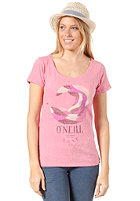 ONEILL Womens Wave S/S T-Shirt camelia rose