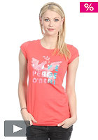 ONEILL Womens Yenisey S/S T-Shirt cayenne/coral
