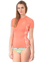 ONEILL Womens Ziggy S/S Crew Lycra ltcoral/ltcoral