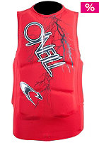 ONEILL WETSUITS Youth Gooru Padded Vest red/graph