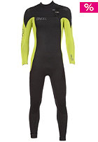 ONEILL Youth Superfreak Fuze 5/3 black/lime