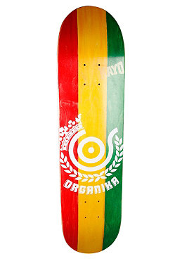 ORGANIKA Team Rasta + Wheels Deck 7.50